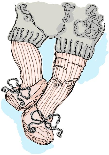 @Ilustración de Julia con sus pompas